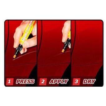 (2ด้าม) ปากกาลบรอยขีดข่วน รถยนต์ทุกรุ่นและรถมอเตอร์ไซ fix it pro
