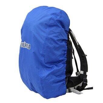 Allwin กระเป๋าเป้กระเป๋าสะพายเป้เดินป่าตั้งแคมป์ที่ทนทานกันน้ำกันฝนคลุมสีฟ้า