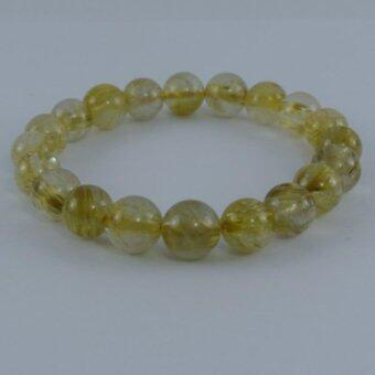 Pearl Jewelry กำไลหินไหมทอง A05