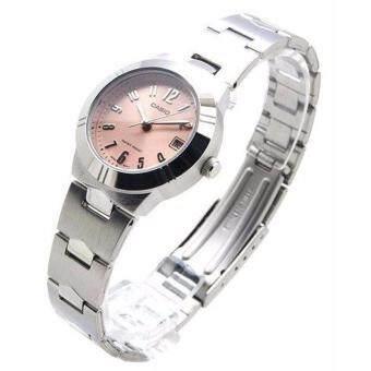 Casio Lady นาฬิกาข้อมือ รุ่น LTP-1241D-4A3 (Pink)