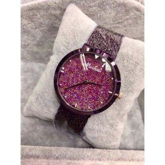 Mashali นาฬิกาข้อมือสตรี รุ่น M-5216 สายสีม่วง ของแท้