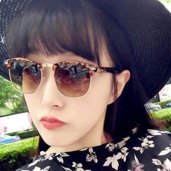 KPshop แว่นกันแดดผู้หญิง แว่นตาแฟชั่น แว่นตาเกาหลี รุ่น LG-043