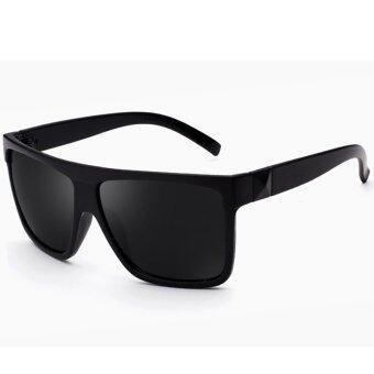 คนขับรถสวมแว่นสีแฟชั่น 2559 กลางแจ้งแดดแว่นตากันแดดแว่นตายี่ห้อสตรีเพศเรโทรยูวี 400 ดีเจ 925 ที่ 01 (สีดำ)
