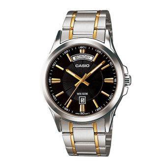 Casio Standard นาฬิกาข้อมือ สายสแตนเลส รุ่น MTP-1381G-1AVDF - สีเงิน/ทอง