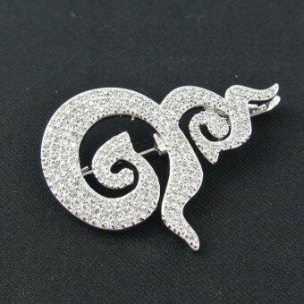 Pearl Jewelry เข็มกลัดเลข 9 มหามงคล งานคุณภาพเลิศ PK109