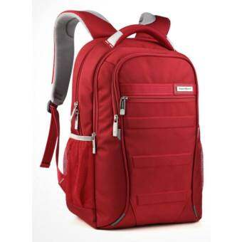 Aspensport กระเป๋าเป้สะพายหลัง Laptop 17 นิ้ว กันน้ำซึม รุ่น AS-B6ST (สีแดง)
