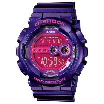 Casio G-Shock นาฬิกาข้อมือรุ่น GD-100SC-6DR - ประกัน CMG 1 ปี