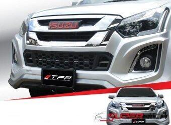 TFP ครอบกระจังล่างหน้า สีดำด้าน (Front Grill) / D-Max'16