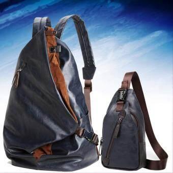 9sabuy Kenbo ชุด กระเป๋าเป้ กระเป๋าสะพายหลัง กระเป๋าคาดไหล่ กระเป๋าคาดอก กระเป๋าผู้ชาย กระเป๋าเดินทาง กระเป๋ากล้อง ipad Backpack bag สีน้ำเงิน (Blue) BG2
