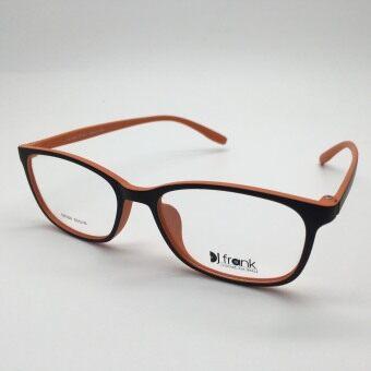 DJ Frank TR-Flex กรอบแว่นตาเกาหลี เนื้อนุ่ม DF004 สีส้มดำ