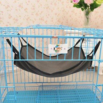 Pet Hammock Kitten Sleep Bed light blue - Intl