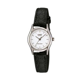 Casio นาฬิกาข้อมือผู้หญิง รุ่น LTP-1094E-7ARDF สีดำ (Black)
