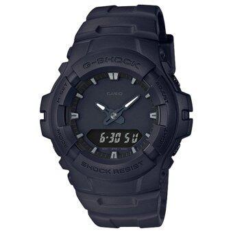 CASIO G-SHOCK รุ่น G-100BB-1ADR (CMG) นาฬิกาข้อมือ สายเรซิ่น สีดำ