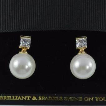 Pearl Jewelry ต่างหูมุกแก้ว P2