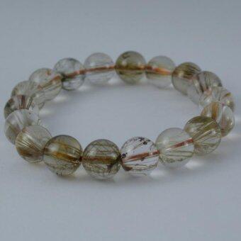 Pearl Jewelry กำไลหินไหมเงิน A32