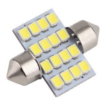 ไฟเพดานห้องโดยสาร เทคโนโลยีหลอดชิพ ความสว่างสูง ขั้ว Festoon 31mm (แสงขาว)