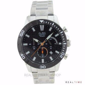 ALBA นาฬิกา AT3A07X (Black)
