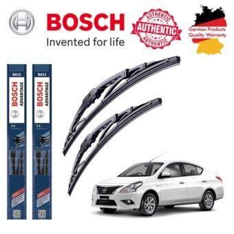 ใบปัดน้ำฝน Bosch Advantage ขนาด 21 นิ้ว และ 14 นิ้ว สำหรับ Nissan ALMERA Year '13 -
