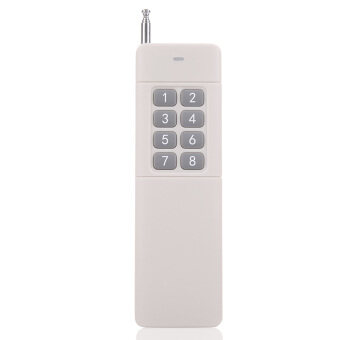 New Practical 433MHz 3000m 8 Buttons High Power Wireless Remote Control