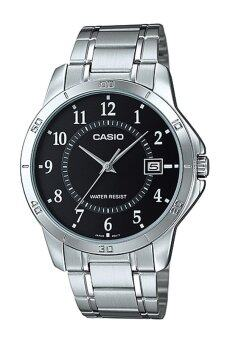 Casio Standard นาฬิกาข้อมือ รุ่น MTP-V004D-1B - Silver