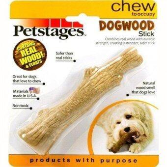 Petstages ของเล่นสุนัข แบบกิ่งไม้ ช่วยขัดฟัน สำหรับสุนัขพันธุ์เล็ก-กลาง