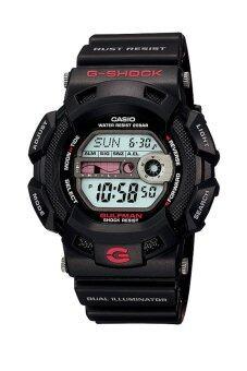 Casio G-Shock นาฬิกาข้อมือผู้ชาย สายเรซิ่น รุ่น G-9100-1DR - Black