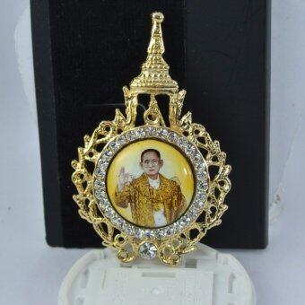 Pearl Jewelry เข็มกลัดในหลวง No.3 งานไทยคุณภาพเลิศ(Gold)