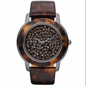 DKNY NY8651 นาฬิกาผู้หญิง สายหนัง