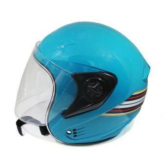 DIFF หมวกกันน็อค SAFETY # SM สีฟ้า