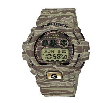 Casio G-shock นาฬิกาข้อมือผู้ชาย สีเทา สายเรซิ่น รุ่น GD-X6900TC-5DR