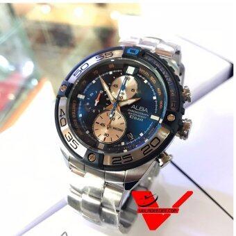 ALBA Chronograph Limited Edition นาฬิกาข้อมือผู้ชาย สายสแตนเลส (ผลิตมาเพียง 1000 เรือนในโลก) รุ่น AV6067X1