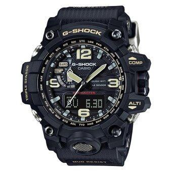 Casio G-Shock นาฬิกาข้อมือผู้ชาย สีดำ สายเรซิ่น รุ่น GWG-1000-1A