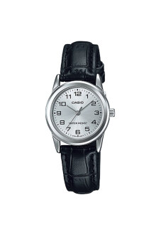 Casio Standard นาฬิกาข้อมือ สายหนัง รุ่น LTP-V001L-7BUDF - สีขาว