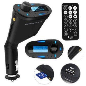 เครื่องเล่น mp3 ติดรถยนต์ FM Modulator, FM Transmitter, Car MP3 , FM Radio Music Player+Remote /lcd screen