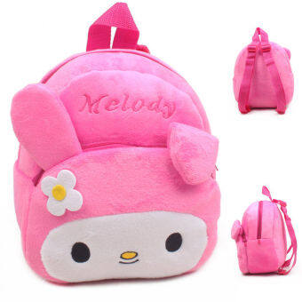Harga Baby Toddler Kids Cartoon Rabbit Backpack Schoolbag Shoulder Bag Pink - intl