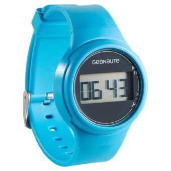 นาฬิกากันน้ำพร้อมตัวจับเวลา สำหรับชาย/หญิง W100 S สีฟ้า