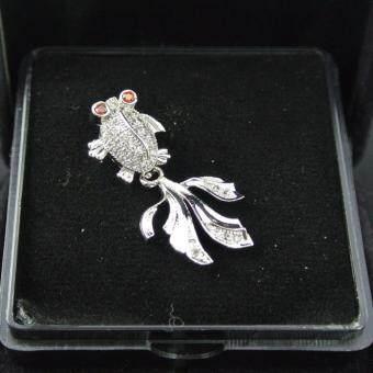 Pearl Jewelry จี้ปลาหางนกยูง PD02