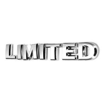 จำกัดโลหะ 3D รถยนต์รถกระบะติดสติ๊กเกอร์ตราสัญลักษณ์เครื่องตกแต่งโลโกใหม่
