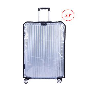 TravelGear24 พลาสติกใสคลุมกระเป๋าเดินทาง 30 นิ้ว กันเปื้อน กันริ้วรอยและกันน้ำ PVC Cover Suitcase