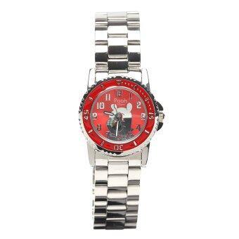 Disney นาฬิกา POOH รุ่น WPFR972MB-01C สีแดง