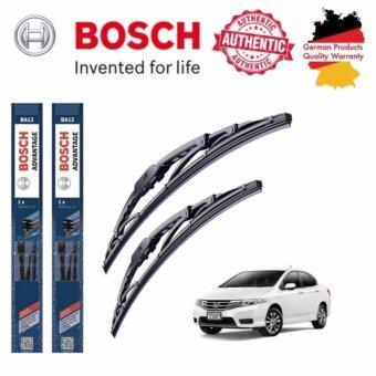 ใบปัดน้ำฝน Bosch Advantage ขนาด 24 นิ้ว และ 14 นิ้ว สำหรับ Honda CITY (GM) * Year 10 - 14