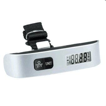 BETS เครื่องชั่งน้ำหนัก เครื่องชั่งกระเป๋า ดิจิตอล แบบพกพา Electronic LCD Luggage Scale 50 Kg/10g (Black)