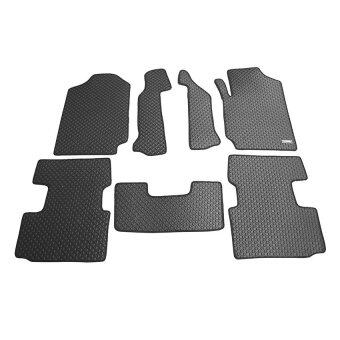 Matpro พรมปูพื้นเข้ารูป ลายกระดุม ชุด Standard Set 7 ชิ้น - FORD RANGER CAB 2013 (Black)