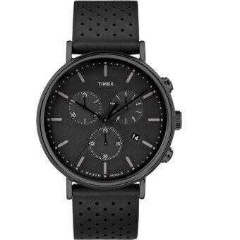 นาฬิกา Timex TW2R26800 นาฬิกาข้อมือสำหรับผู้ชาย สายหนัง
