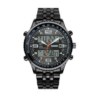 นาฬิกาข้อมือแสดงผลอนาล็อกและดิจิตอล SKMEI
