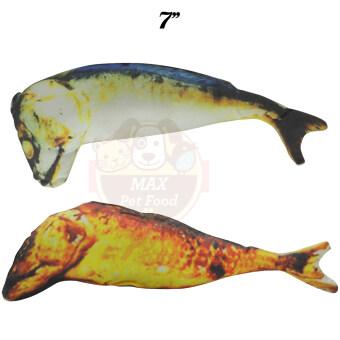 ของเล่นแมว ปลาทูแคทนิปแพคคู่ ขนาด7 นิ้ว