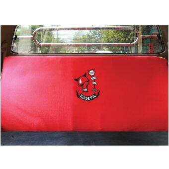 Kid Devil ที่หุ้มเบาะหลังรถกระบะ / รถ 5 ประตู Kid Devil 06 (สีดำแดง)