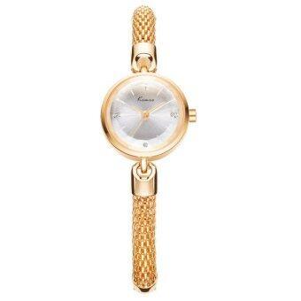 Kimio นาฬิกาข้อมือผู้หญิง สายสแตนเลส สีโรสด์โกล์ด รุ่น KW6128