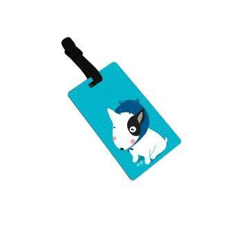 Kouple Bag tag แท็คแขวนกระเป๋า ลายหมาน้อยบูลเทอเลียหมวกเพนกวิน