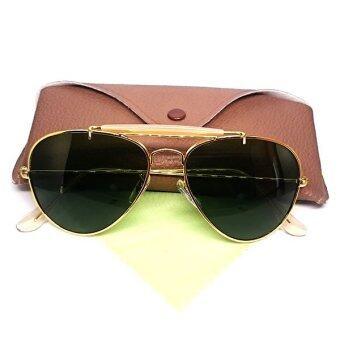 แว่นกันแดด Oculos De Sol-3030-GOLD